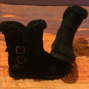 Other - Black furry winter boots